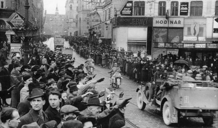 Německá Okupace Čech, Moravy A Slezska